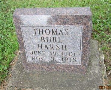 HARSH, THOMAS BURL - Dallas County, Iowa   THOMAS BURL HARSH