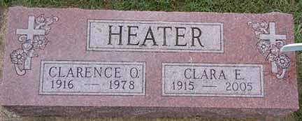 HEATER, CLARENCE O - Dallas County, Iowa | CLARENCE O HEATER