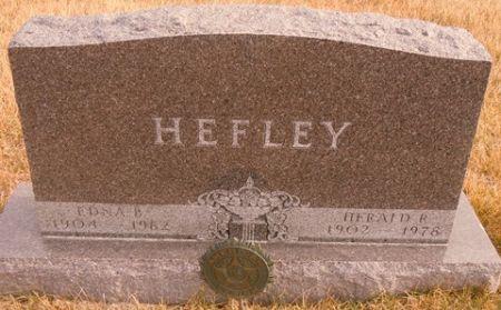 HEFLEY, EDNA B. - Dallas County, Iowa | EDNA B. HEFLEY
