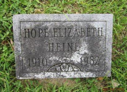HEINE, HOPE ELIZABETH - Dallas County, Iowa   HOPE ELIZABETH HEINE