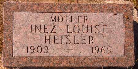 HEISLER, INEZ LOUISE - Dallas County, Iowa | INEZ LOUISE HEISLER