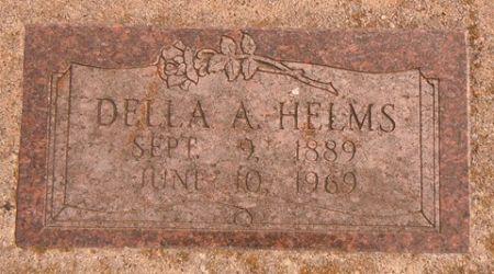 HELMS, DELLA A. - Dallas County, Iowa   DELLA A. HELMS