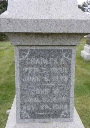 HENDERSON, CHARLES R - Dallas County, Iowa   CHARLES R HENDERSON