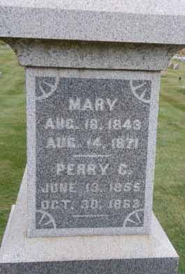 HENDERSON, PERRY G - Dallas County, Iowa   PERRY G HENDERSON
