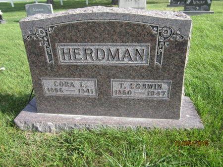 HERDMAN, T CORWIN - Dallas County, Iowa | T CORWIN HERDMAN
