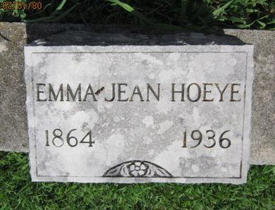 HOEYE, EMMA JEAN - Dallas County, Iowa | EMMA JEAN HOEYE
