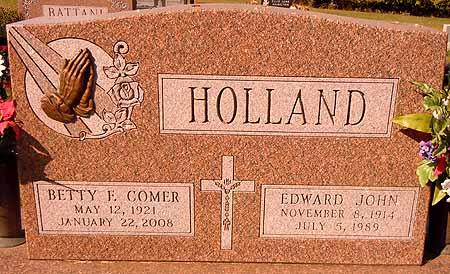 HOLLAND, BETTY F. - Dallas County, Iowa   BETTY F. HOLLAND