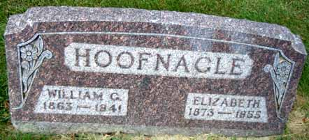 HOFFNAGLE, ELIZABETH - Dallas County, Iowa   ELIZABETH HOFFNAGLE