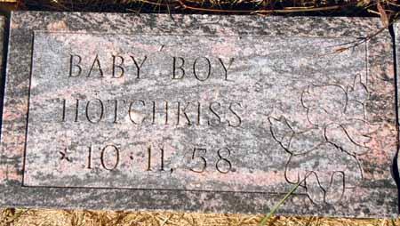 HOTCHKISS, BABY BOY - Dallas County, Iowa   BABY BOY HOTCHKISS
