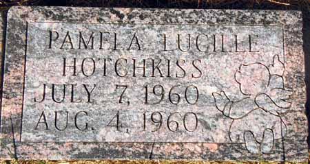 HOTCHKISS, PAMELA LUCILLE - Dallas County, Iowa   PAMELA LUCILLE HOTCHKISS