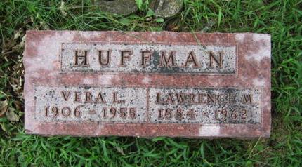 HUFFMAN, LAWRENCE M - Dallas County, Iowa   LAWRENCE M HUFFMAN