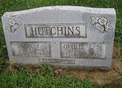 HUTCHINS, ORVILLE L SR - Dallas County, Iowa | ORVILLE L SR HUTCHINS