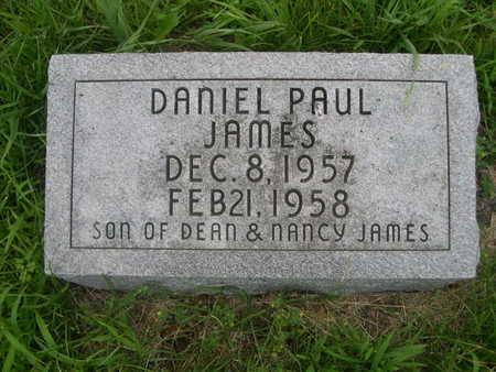 JAMES, DANIEL PAUL - Dallas County, Iowa   DANIEL PAUL JAMES