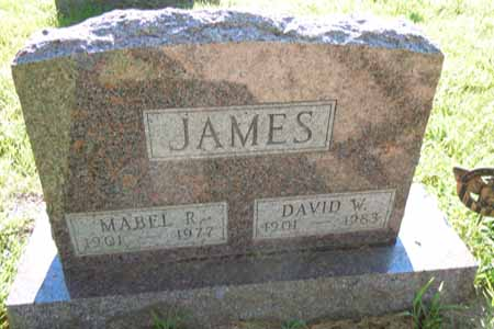 JAMES, DAVID W - Dallas County, Iowa | DAVID W JAMES