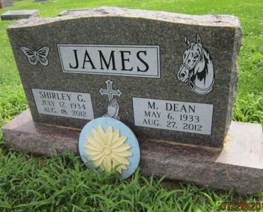 JAMES, M DEAN - Dallas County, Iowa   M DEAN JAMES