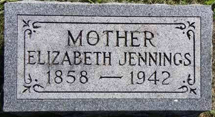 JENNINGS, ELIZABETH - Dallas County, Iowa | ELIZABETH JENNINGS