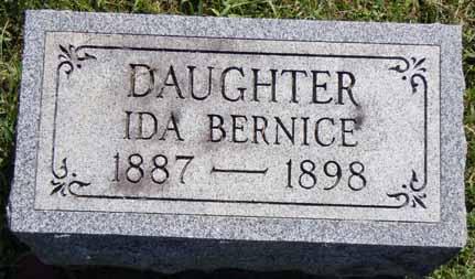 JENNINGS, IDA BERNICE - Dallas County, Iowa   IDA BERNICE JENNINGS