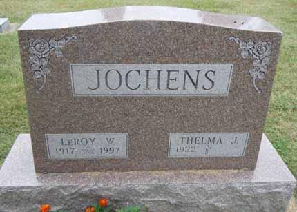 JOCHENS, LEROY W - Dallas County, Iowa   LEROY W JOCHENS