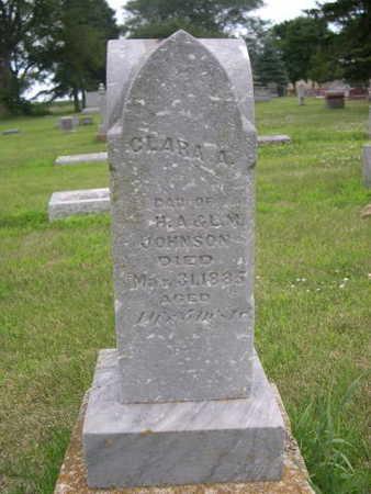 JOHNSON, CLARA A. - Dallas County, Iowa | CLARA A. JOHNSON