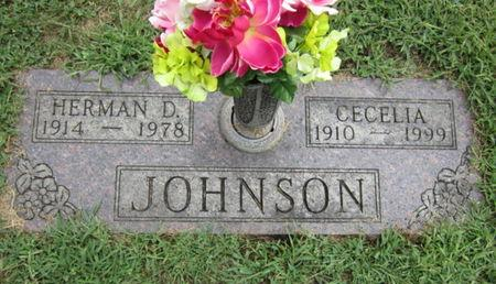 JOHNSON, HERMAN D - Dallas County, Iowa   HERMAN D JOHNSON