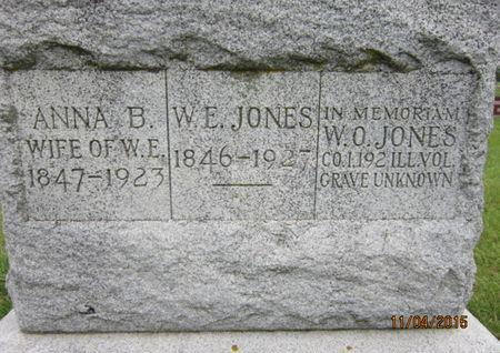 JONES, W E - Dallas County, Iowa | W E JONES