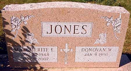 JONES, MARGUERITE L. - Dallas County, Iowa | MARGUERITE L. JONES
