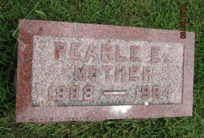 KAUFMAN, PEARLE E - Dallas County, Iowa | PEARLE E KAUFMAN