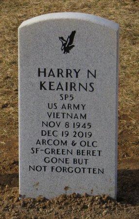 KEAIRNS, HARRY N - Dallas County, Iowa | HARRY N KEAIRNS