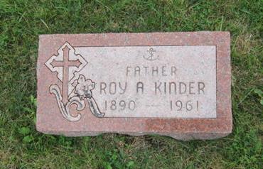 KINDER, ROY A - Dallas County, Iowa | ROY A KINDER
