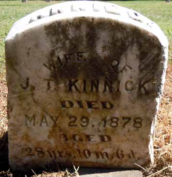 KINNICK, ANNIE G - Dallas County, Iowa | ANNIE G KINNICK