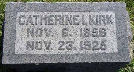 KIRK, CATHERINE I - Dallas County, Iowa | CATHERINE I KIRK