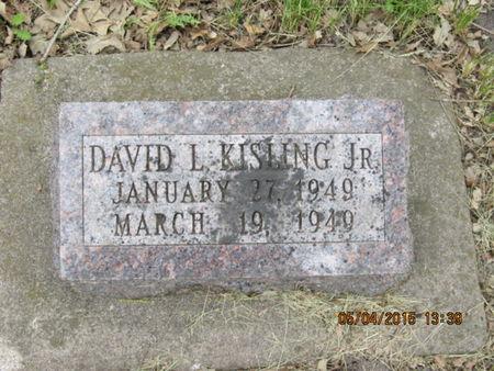 KISLING, DAVID L - Dallas County, Iowa | DAVID L KISLING