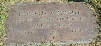 KNIGHT, DONALD R - Dallas County, Iowa   DONALD R KNIGHT