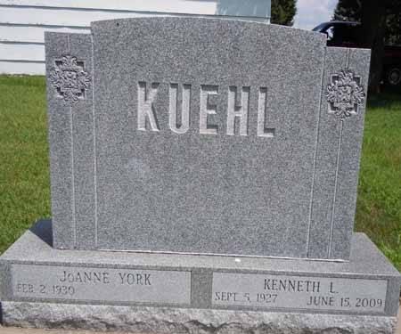 KUEHL, KENNETH L - Dallas County, Iowa   KENNETH L KUEHL