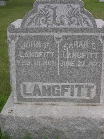 LANGFITT, JOHN F. - Dallas County, Iowa   JOHN F. LANGFITT