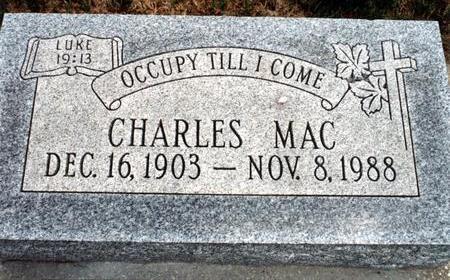 LEAMING, CHARLES MAC - Dallas County, Iowa | CHARLES MAC LEAMING