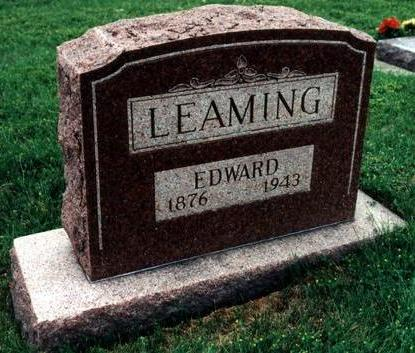LEAMING, EDWARD - Dallas County, Iowa | EDWARD LEAMING