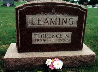 LEAMING, FLORENCE M. - Dallas County, Iowa | FLORENCE M. LEAMING