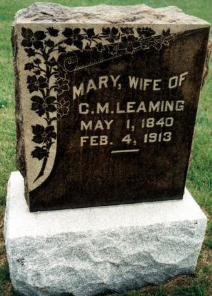 LEAMING, MARY - Dallas County, Iowa | MARY LEAMING