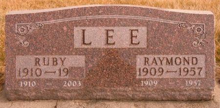 LEE, RUBY - Dallas County, Iowa   RUBY LEE