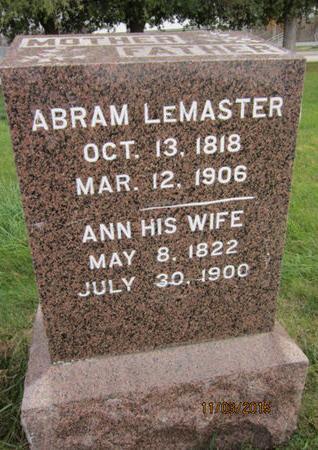 LEMASTER, ANN - Dallas County, Iowa | ANN LEMASTER