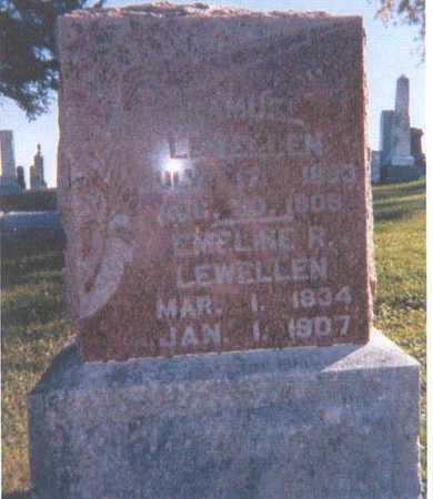 LEWELLEN, ROBERT DOUGLAS - Dallas County, Iowa | ROBERT DOUGLAS LEWELLEN