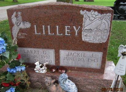 LILLEY, LARRY G - Dallas County, Iowa   LARRY G LILLEY