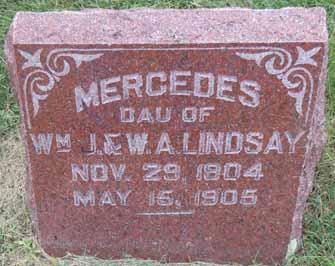LINDSAY, MERCEDES - Dallas County, Iowa | MERCEDES LINDSAY