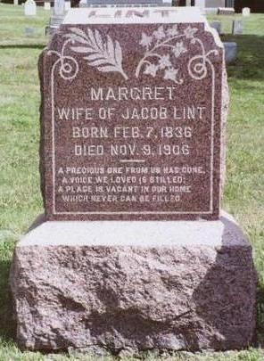 LINT, MARGRET - Dallas County, Iowa | MARGRET LINT