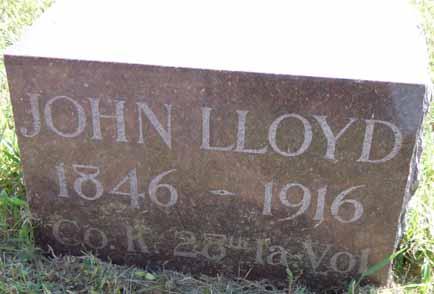 LLOYD, JOHN - Dallas County, Iowa | JOHN LLOYD
