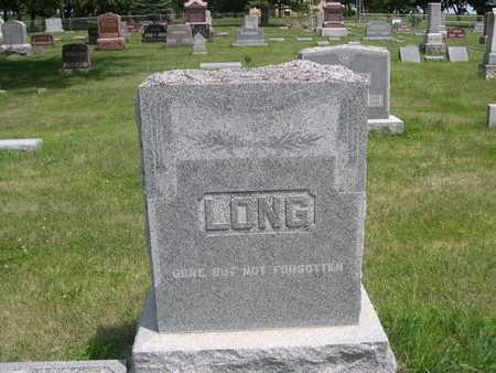 LONG, FAMILY - Dallas County, Iowa   FAMILY LONG