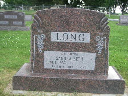 LONG, SANDRA BETH - Dallas County, Iowa   SANDRA BETH LONG