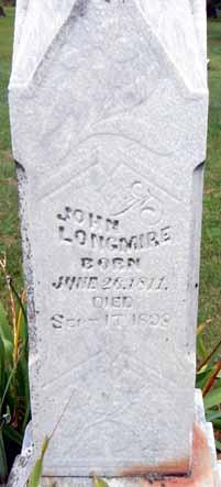 LONGMIRE, JOHN - Dallas County, Iowa | JOHN LONGMIRE