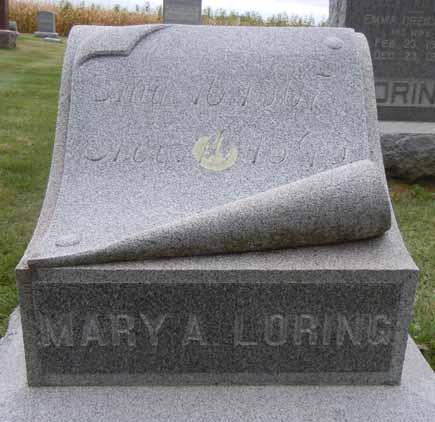 LORING, MARY A - Dallas County, Iowa | MARY A LORING